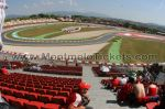 Tribune B, GP Barcelone<br />Circuit de Catalogne Montmelo